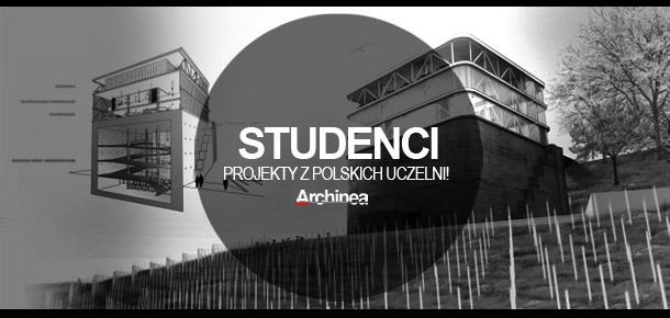 Projekt studenckie na portalu Archinea