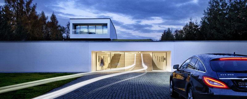 Dom Autorodzinny. Projekt: Robert Konieczny - KWK Promes
