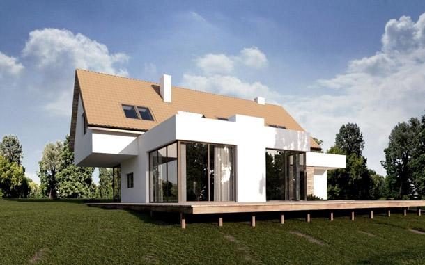 Dom jednorodzinny w Wilanowie