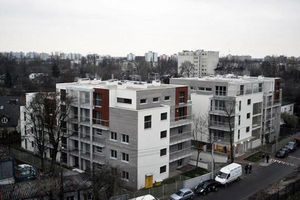 Budynek mieszkalny w Warszawie