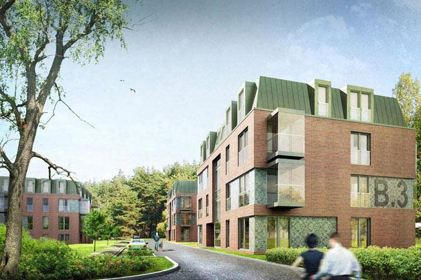 Osiedle mieszkaniowe w Sopocie