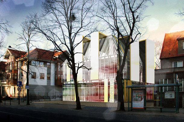 Budynek mieszkalny w Sopocie