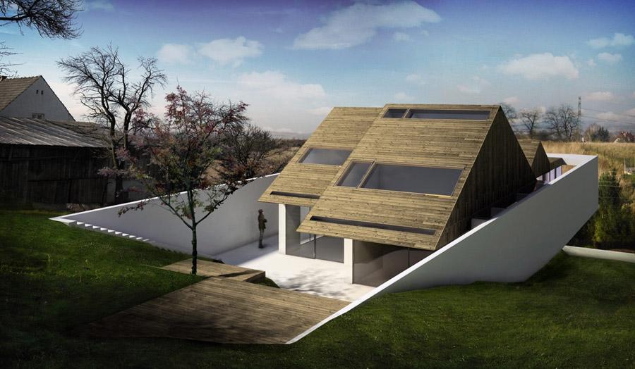 HANG - Dom w Krakowie. Projekt: Mobius Architekci