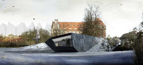 Centrum Dialogu Przełomy w Szczecinie. Projekt konkursowy: Mobius Architekci