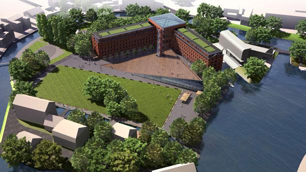 Projekt młynu Rothera w Bydgoszczy
