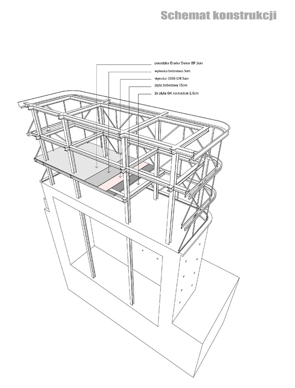 Dyplomy Architektury: Winoteka. Adaptacja schronu przeciwlotniczego. Projekt: Paulina Witczak