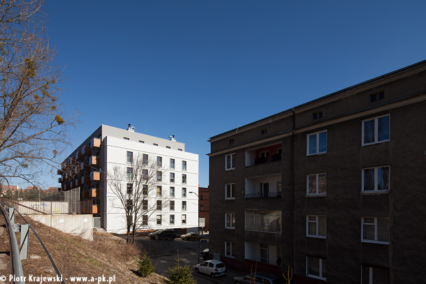 Budynek mieszkalny w Szczecinie