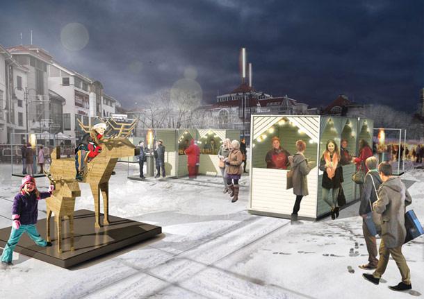 Projekt Placu Przyjaciół w Sopocie