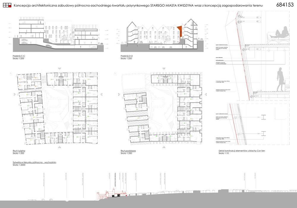 Projekt Starego Miasta Kwidzyn