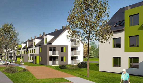 Projekt Osiedla budynków mieszkalnych w Stepnicy