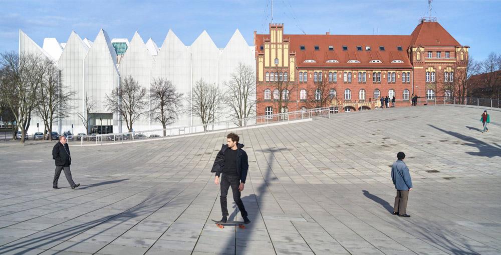 Centrum Dialogu Przełomy w Szczecinie. Projekt: Robert Konieczny - KWK Promes. Zdjęcie: Jakub Certowicz