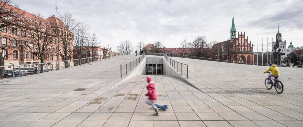 Centrum Dialogu Przełomy, Szczecin. Projekt: Robert Konieczny - KWK Promes. Zdjęcie: Juliusz Sokołowski