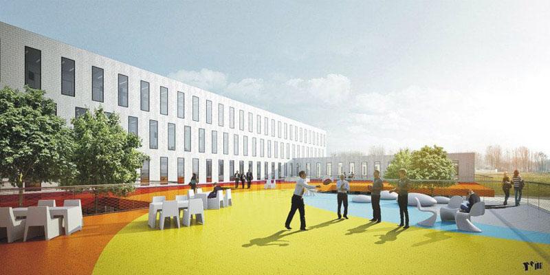 Konkurs na budynek biurowy w Gliwicach