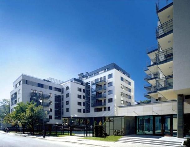 Apartamentowiec w Warszawie