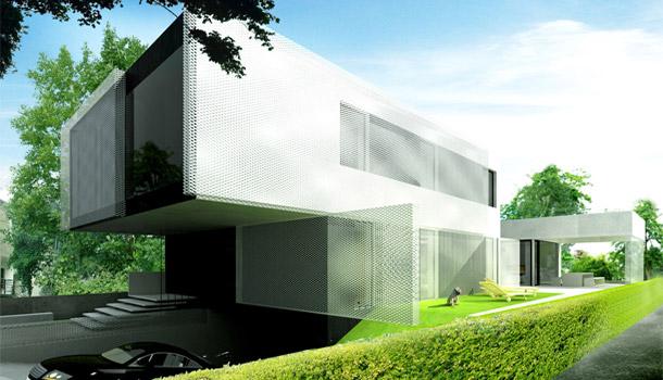 Projekt domu w Katowicach