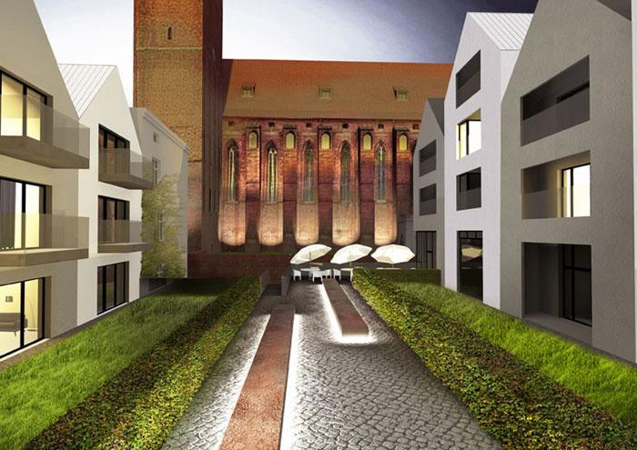 Projekt Stare Miasto Kwidzyn