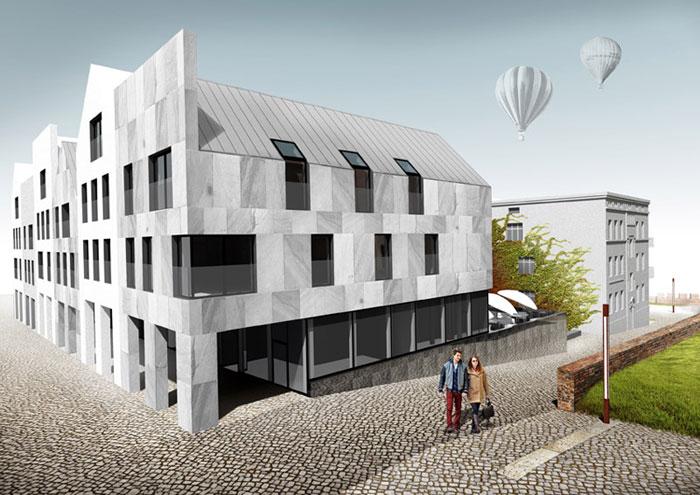 Projekt konkursowy Rynku miasta Kwidzyn