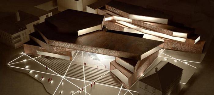 Projekt Muzeum Sztuki Współczesnej