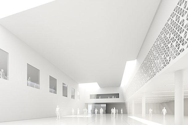 Projekt Domu Kultury i Sztuki