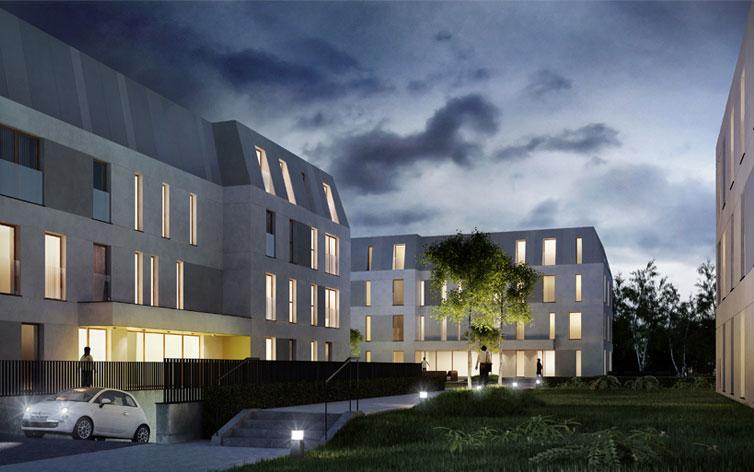 Projekt osiedla mieszkalnego w Sopocie