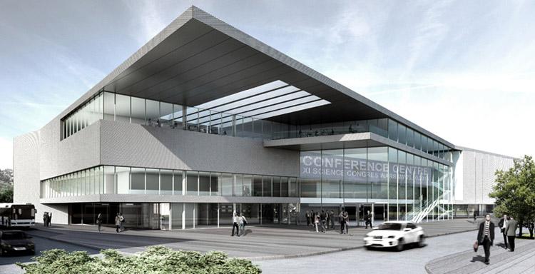 Projekt Centrum Konferencyjnego w Warszawie