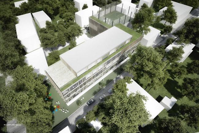 Projekt szkoły w Pruszkowie