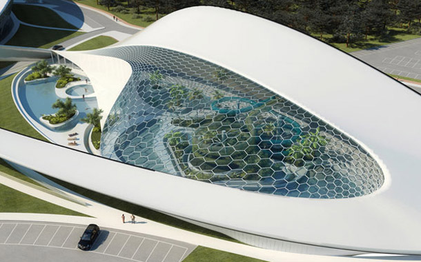 Projekt aquaparku