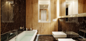 Apartament z drewna i marmuru – 81.WAW.PL