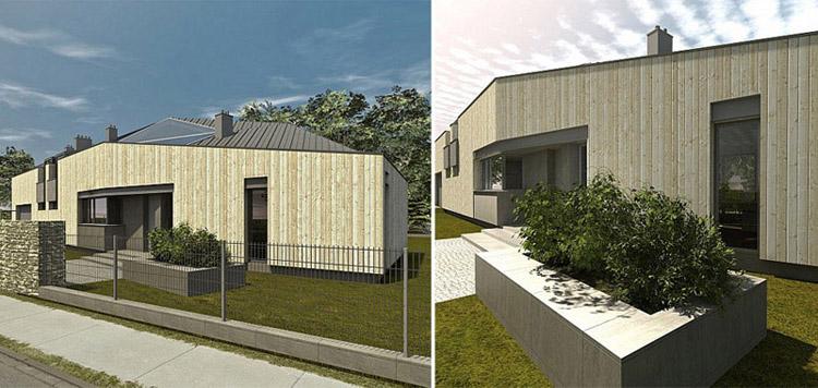 Projekt domu jednorodzinnego w Musułach