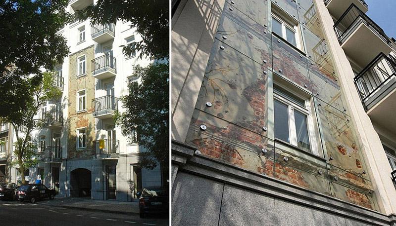 Budynek przy ulicy Wilczej w Warszawie