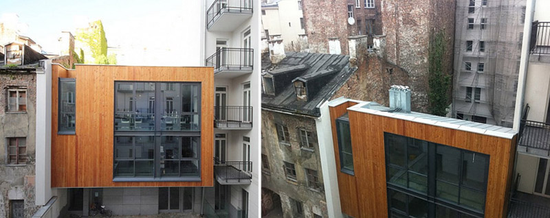 Projekt Atelier 7 Architektura Gnich