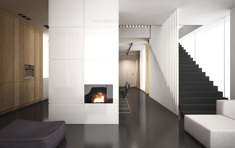 Projekt wnętrz mieszkania w Warszawie