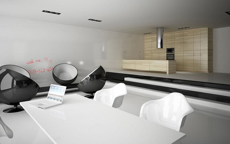 Projekt wnętrza autorstwa Minimal Studio Architects