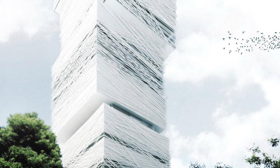 Projekt wieżowca