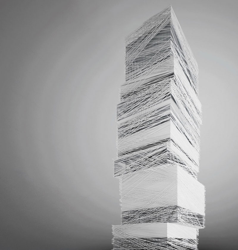 Wizualizacja wieżowca