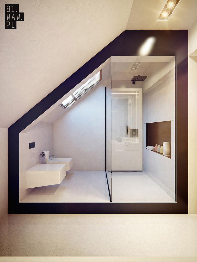 Projekt nowoczesnego wnętrza domu