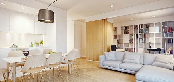 Nowoczesne mieszkanie w dobrym stylu
