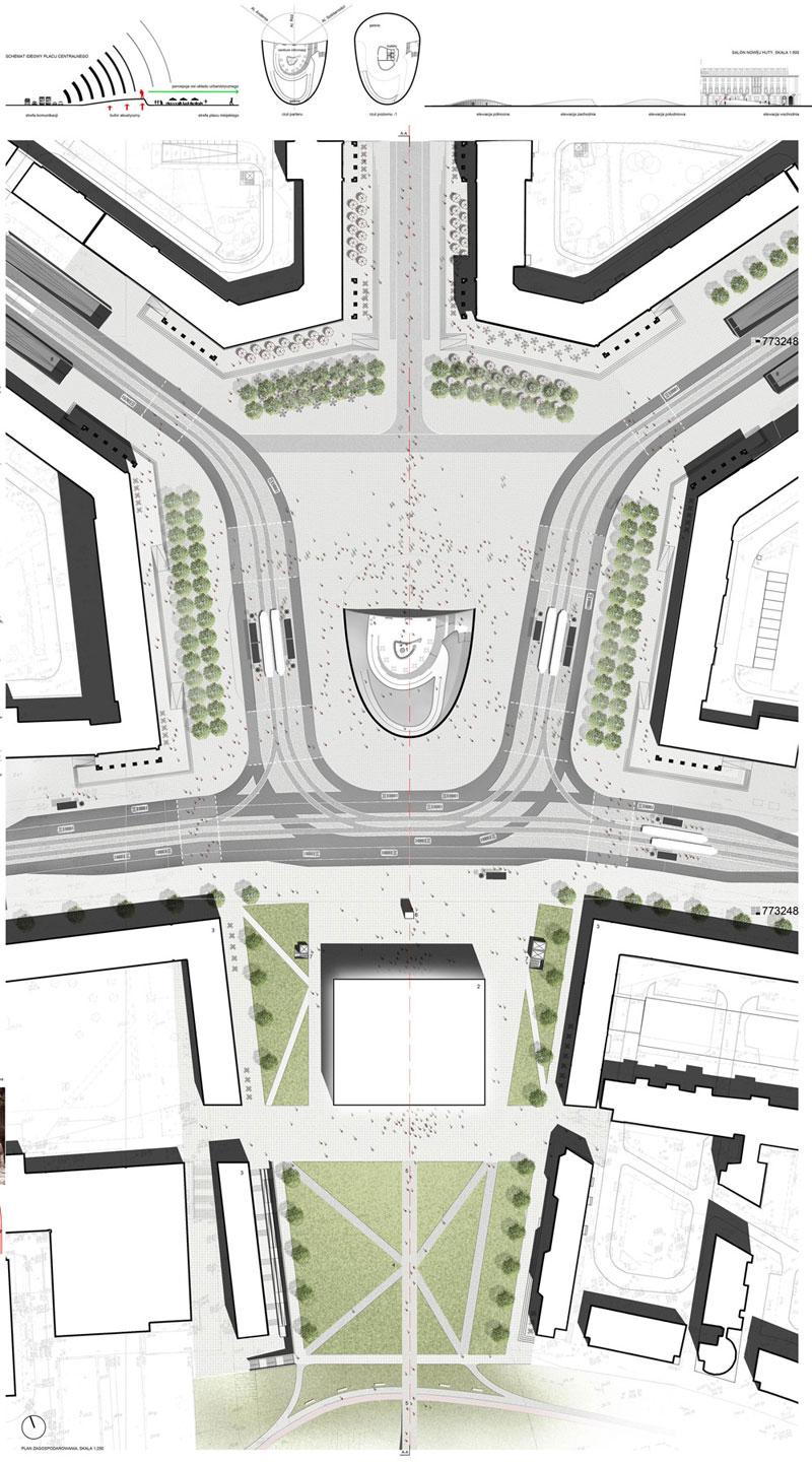 Projekt rewitalizacji przestrzeni w Krakowie
