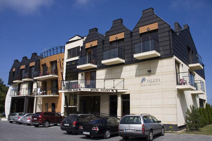 Hotel Faleza w Jastrzębiej Górze