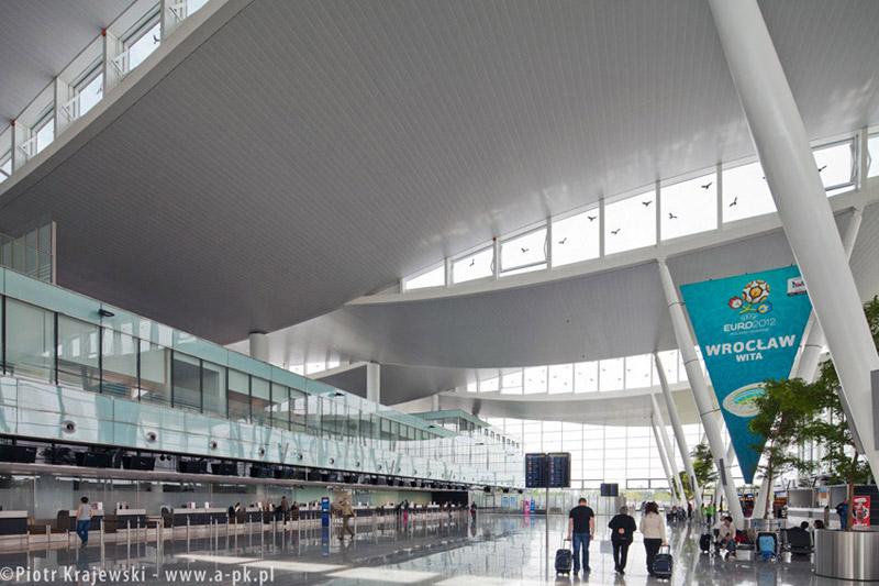 Terminal we Wrocławiu