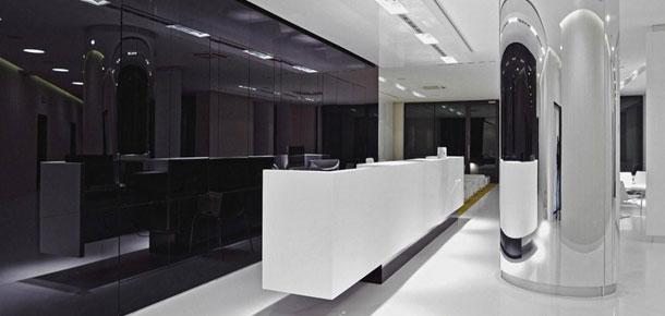 Wnętrza Kliniki Duda Clinic w Katowicach