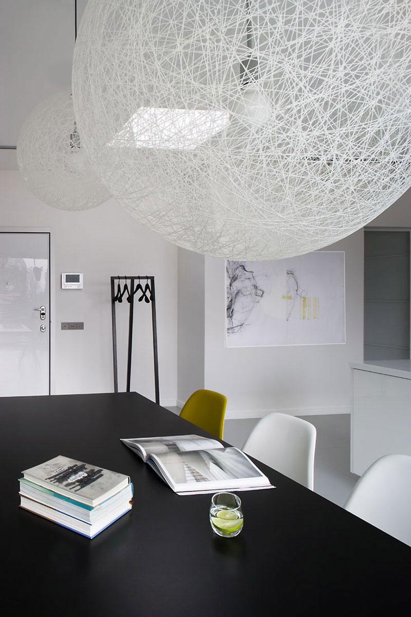 Wnętrze apartamentu w Łodzi