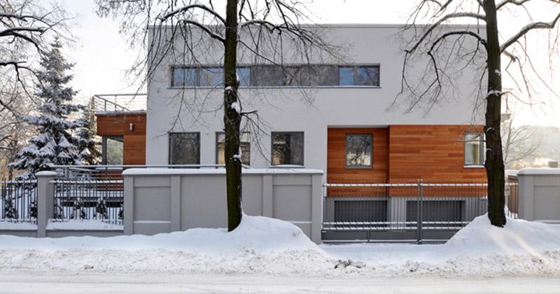 Apartamentowiec w Łodzi