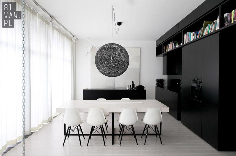 Projekt wnętrza apartamentu w Warszawie