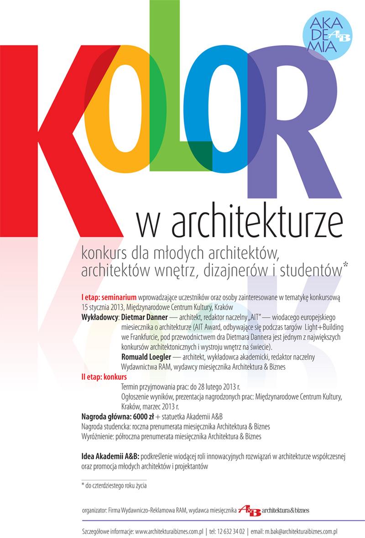 Konkurs dla studentów architektury