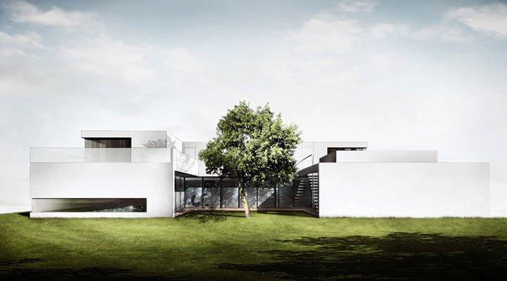 Projekt domu jednorodzinnego autorstwa BXB Studio