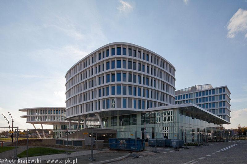 Kompleks Business Garden Wiśniowy w Warszawie