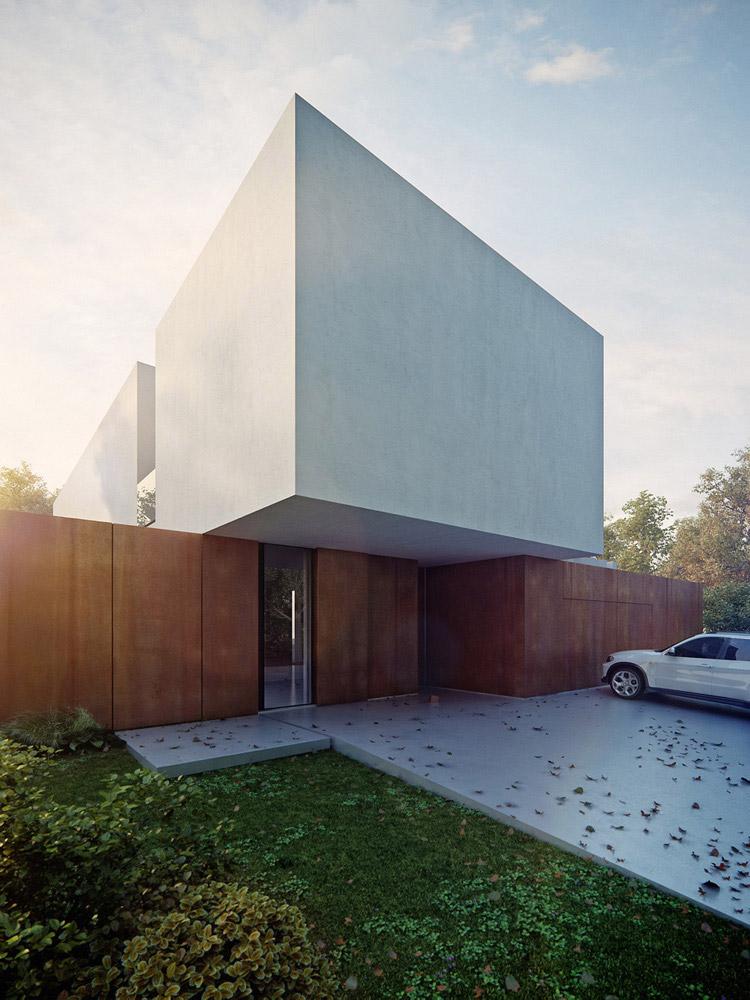 Projekt domu jednorodzinnego pod Wrocławiem