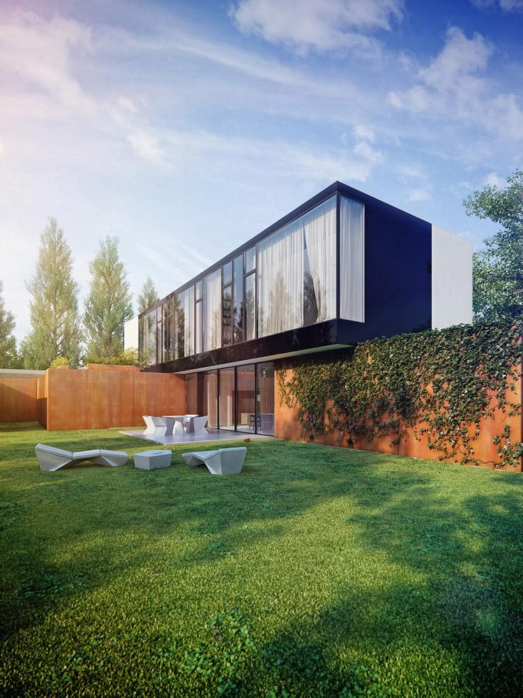 Projekt domu jednorodzinnego KMA Architekci