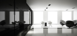 Monochrome – projekt wnętrza od MinimalStudio Architects!